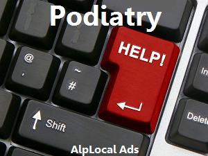AlpLocal Podiatry Mobile Ads