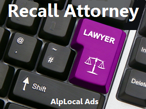 AlpLocal Recall Attorney Mobile Ads
