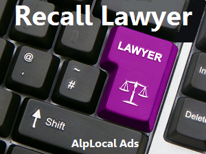 AlpLocal Recall Lawyer Mobile Ads