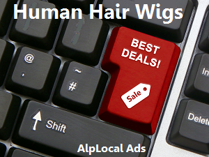 AlpLocal Human Hair Wigs Mobile Ads