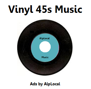 AlpLocal Vinyl 45s Mobile Ads