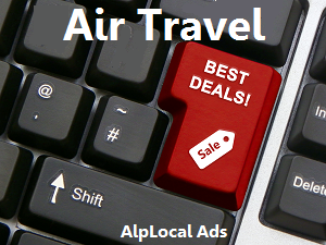 AlpLocal Air Travel Mobile Ads