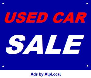AlpLocal Auto Sales Mobile Ads