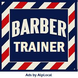 AlpLocal Barber Trainer Mobile Ads