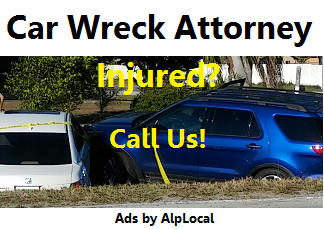 AlpLocal Car Wreck Attorney Mobile Ads