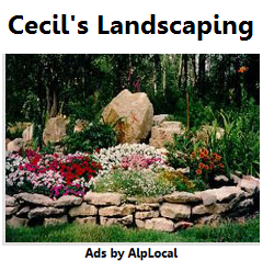 AlpLocal Landscaping Mobile Ads