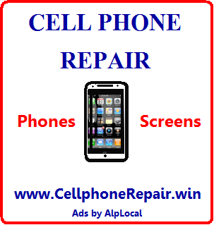 AlpLocal Cellphone Repair Mobile Ads