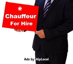 AlpLocal Chauffeur Mobile Ads