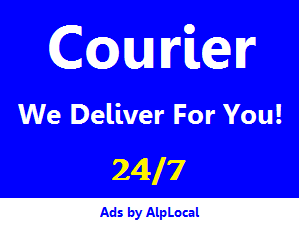 AlpLocal Courier Mobile Ads