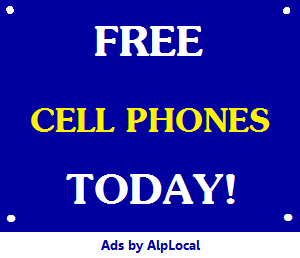 AlpLocal Free Cell Phones Today Mobile Ads