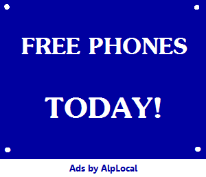 AlpLocal Free Phones Today Mobile Ads