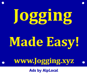 AlpLocal Jogging Mobile Ads