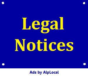 AlpLocal Legal Notices Mobile Ads