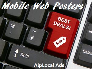 AlpLocal Mobile Web Poster Mobile Ads