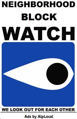 AlpLocal Neighborhood Block Watch Mobile Ads