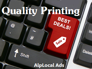 AlpLocal Printing Mobile Ads