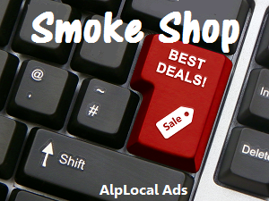 AlpLocal Smoke Shop Mobile Ads