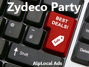 AlpLocal Zydeco Party Mobile Ads