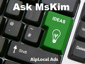 AlpLocal Ask MsKim Mobile Ads