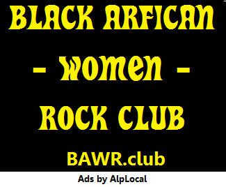 AlpLocal Black African Women Rock Club Mobile Ads