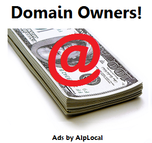 AlpLocal Domain Owners Party Mobile Ads