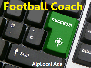AlpLocal Football Coach Mobile Ads