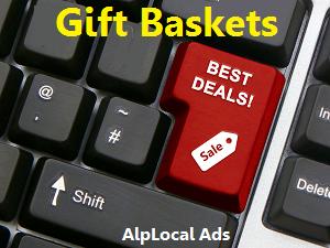 AlpLocal Gift Baskets Mobile Ads