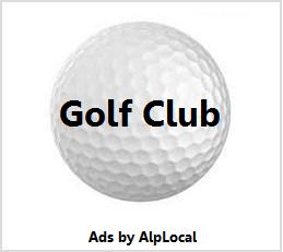 AlpLocal Golf Club Mobile Ads