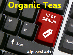 AlpLocal Organic Tea Mobile Ads