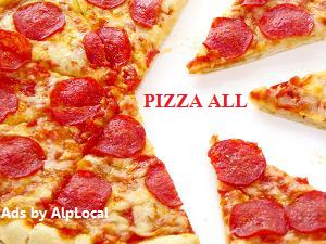 Alphabet Pizza Mobile Ads
