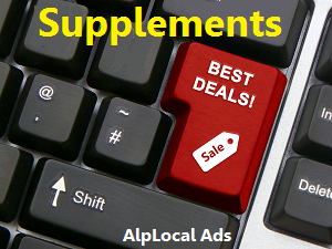 AlpLocal Vitamin Supplements Mobile Ads