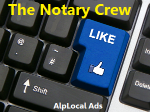 AlpLocal Notary Mobile Ads