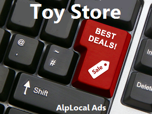 AlpLocal Toy Store Mobile Ads