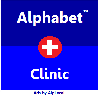 AlpLocal Alphabet Clinic mobile Ads