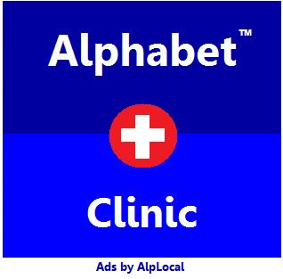 AlpLocal Alphabet Clinic mobile Ads