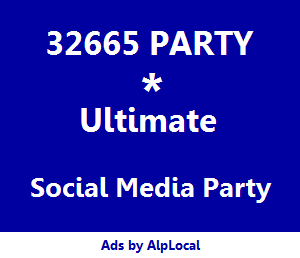 AlpLocal 32665 Party Mobile Ads
