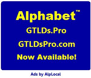 AlpLocal GTLDs Pro Mobile Ads