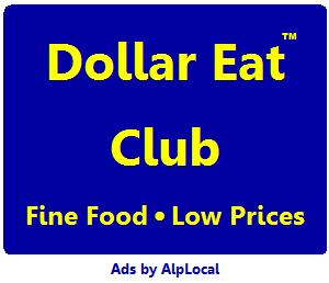 AlpLocal Dollar Eats Club Mobile Ads