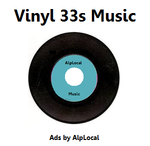 AlpLocal Vinyl 33s Mobile Ads