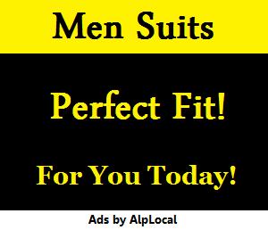 AlpLocal Men Suits Mobile Ads