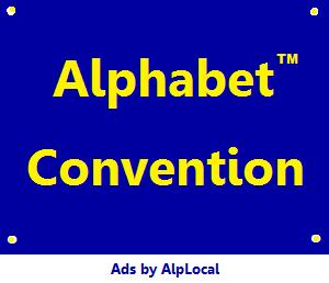 AlpLocal Alphabet Convention Mobile Ads
