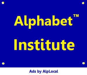 AlpLocal Alphabet Institute Mobile Ads