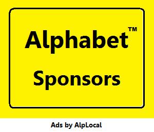 Alphabet Convention Sponsors